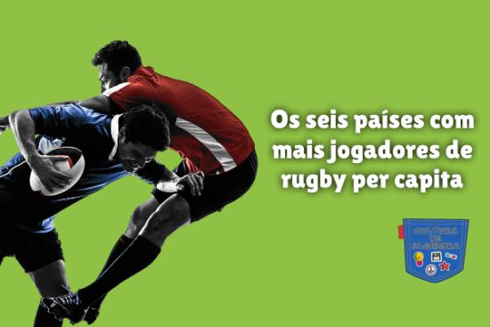 países mais jogadores rugby per capita Cultura de Algibeira