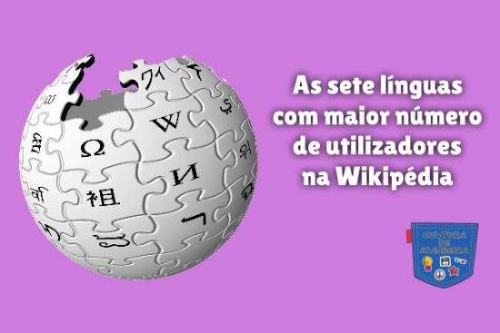 línguas maior número utilizadores Wikipédia Cultura de Algibeira
