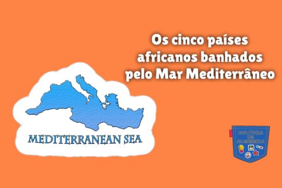países africanos banhados Mar Mediterrâneo Cultura de Algibeira