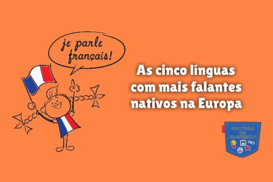 cinco línguas mais falantes nativos Europa Cultura de Algibeira