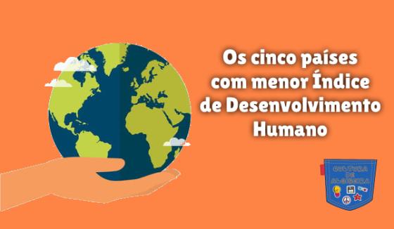 países menor Índice Desenvolvimento Humano Cultura de Algibeira